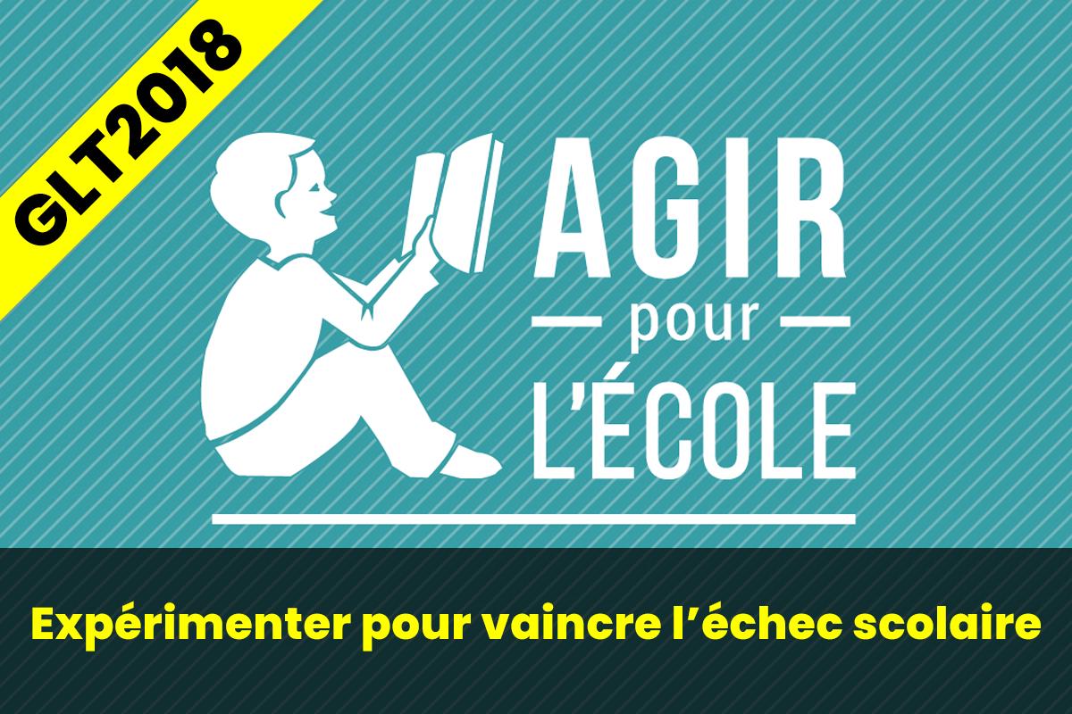 AGIR POUR L'ÉCOLE